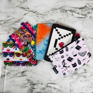 5 Ipsy make-up/Cosmetic bags